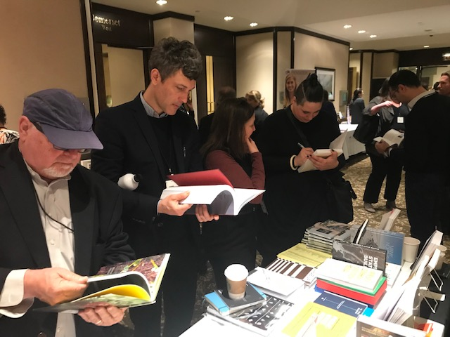 Applied Research + Design shows recent titles at this year's ACSA to over 400 professors of architecture